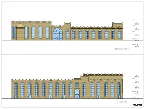 תוכנית חזית אדריכלית